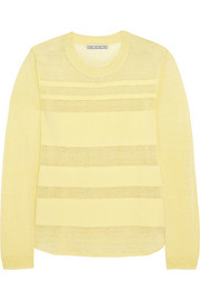 Ruchi striped slub sweater