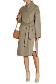 Totême Chelsea wool-blend felt wrap coat