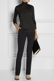 Totême Courchevel Micro Modal and cashmere-blend turtleneck top