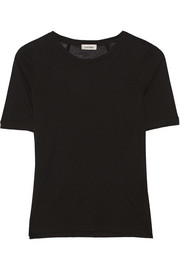 Stockholm Micro Modal and cashmere-blend T-shirt