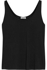 Siena Micro Modal and cashmere-blend tank