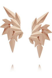 Maria Black Wing rose gold-plated earrings
