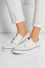Brigata Slim canvas sneakers