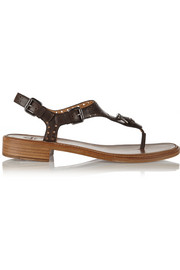Church's Maud perforated leather sandals