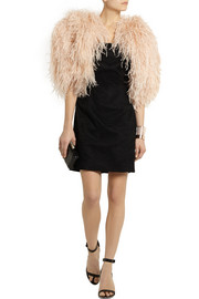 Finds + Daizy Shely feather jacket
