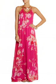 Matthew Williamson Escape floral-print silk maxi dress
