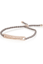 Monica Vinader Havana rose gold-plated bracelet