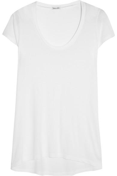 Splendid T-Shirt aus Jersey aus einer Modal-Baumwollmischung Günstige Spielraum ExR5DSoy