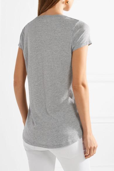 Splendid T-Shirt aus Jersey aus einer Modal-Baumwollmischung