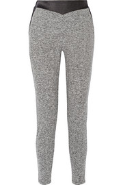 Stretch-jersey track pants