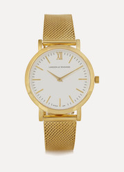 Liten small gold-plated watch