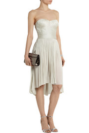 Finds + Maria Lucia Hohan Raya plissé silk-tulle dress