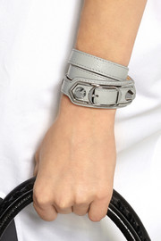 Classic leather wrap bracelet