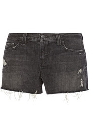 1158 cut-off denim shorts