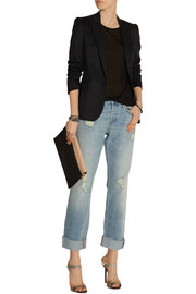 Sonny distressed mid-rise boyfriend jeans