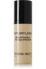 Sunday Riley Effortless Breathable Tinted Primer - Medium, 30ml