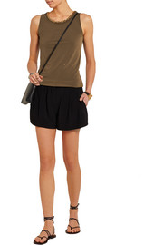 MICHAEL Michael Kors Chain-embellished stretch-jersey top