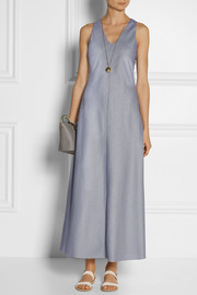 Rosetta Getty Woven cotton maxi dress