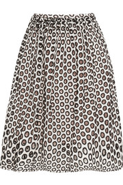 Portea broderie anglaise cotton skirt