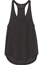Nadia ribbed stretch-modal tank