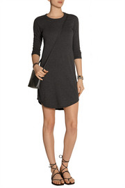 Stretch-jersey mini dress