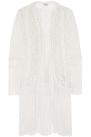 Tasha embroidered georgette jacket