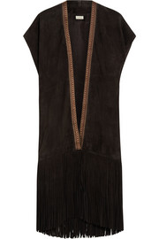 Talitha Fringed suede vest