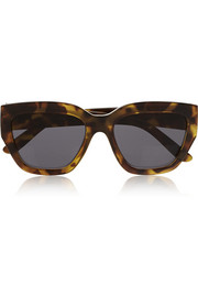 Hermosa D-frame acetate sunglasses