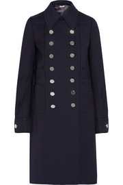 Miu Miu Double-breasted twill coat