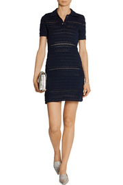 Miu Miu Crocheted cotton mini dress