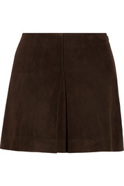 Miu Miu Suede mini skirt
