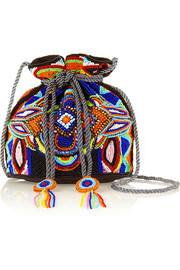 Sonoma beaded canvas shoulder bag