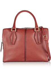D-Cube Bauletto small leather shoulder bag