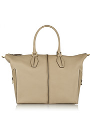 Tod's D-Cube Mickey medium textured-leather tote