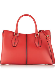 D-Cube Shopping small leather tote