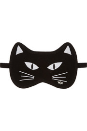 Banjo & Matilda Silk and cashmere-blend eye mask