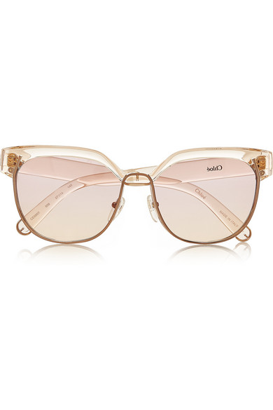 9bb0626ee75 Chloé. Dafne D-frame acetate sunglasses