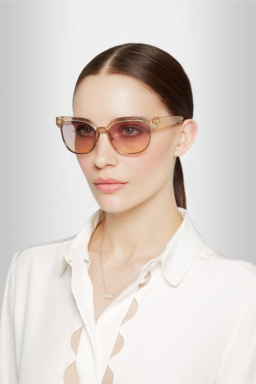 Chloé Dafne D-frame acetate sunglasses