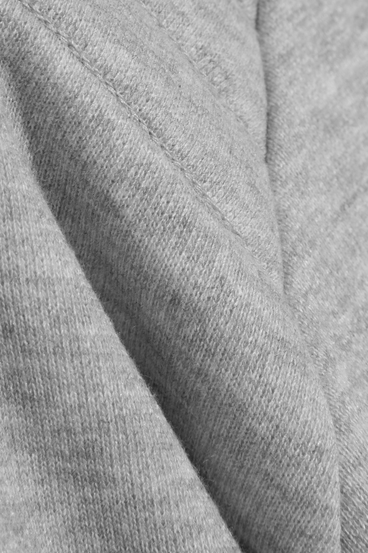Zoe Karssen Cotton-blend jersey sweatshirt
