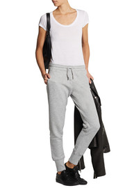 Zoe Karssen Cotton-blend jersey track pants