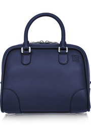 Loewe Amazona 75 small textured-leather tote