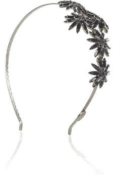 Louis MarietteLola crystal-embellished headband