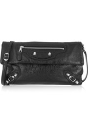 Balenciaga Giant 12 Envelope textured-leather shoulder bag