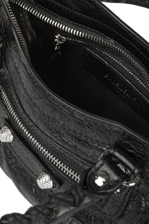 Balenciaga Giant 12 City mini textured-leather shoulder bag