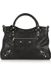 Balenciaga Town textured-leather tote