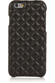 Quilted leather iPhone 6 case