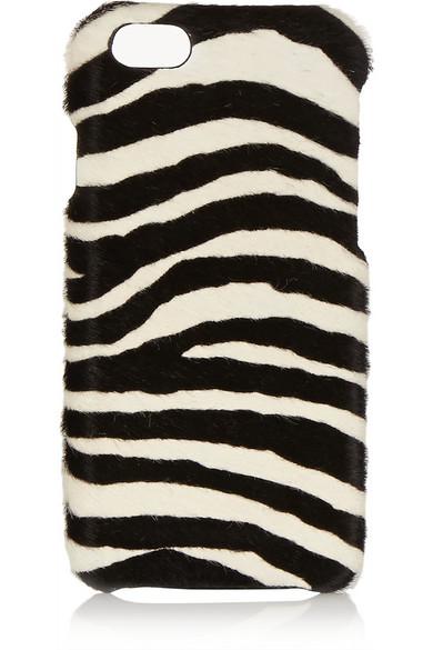 online store 6a0ed 5c4ad Zebra-print calf hair iPhone 6 case