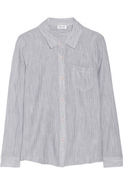Dockway striped cotton shirt