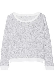 Splendid Space-dyed cotton-blend sweatshirt
