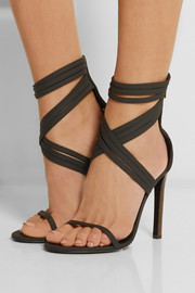 Boom Boom leather and scuba sandals